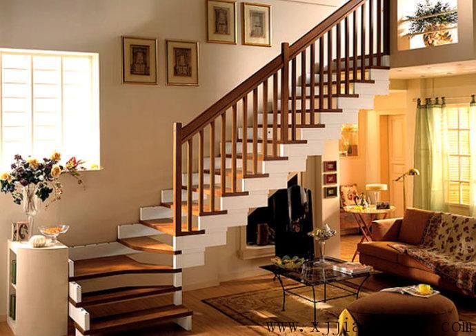 家装设计:室内楼梯的选材与摆放